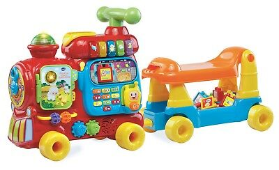 VTech Sit-to-Stand Ultimate Alphabet Train 260+ songs and 10 activities - New!!