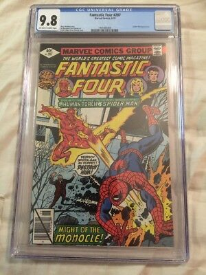 Fantastic Four 207 1979 CGC 9.8 Spiderman New Case Awesome!!!!!