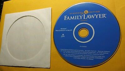 Family Lawyer CD By Bluecase 2004 Edition PC Magazine Editor's Choice