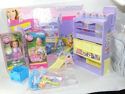 Wondrous 2001 Kelly Bedroom Playset Barbie Furniture All Around Home Two New Kelly Dolls Download Free Architecture Designs Rallybritishbridgeorg