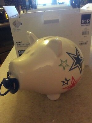Piggy Bank For Baby boy  New