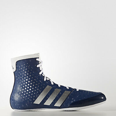 NEW Adidas Boxing Boots Ko Legend Shoes Blue White Lightweight