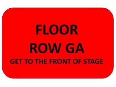 1-4 MUSE Tickets United Center 4/12 ~ FLOOR GA~GET TO STAGE AS CLOSE AS WANT