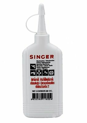 Singer Oil Lubricant Sewing Machine Appliance All Purpose Oil New Original 80cc