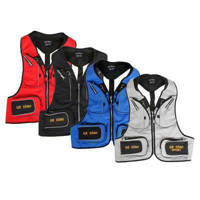 Ultralight Fishing Vest Quick-Dry Camping Hiking Adjust Back Strap and Waist