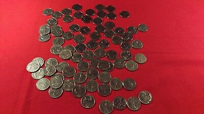 Lot Of 80 Canada Quarters