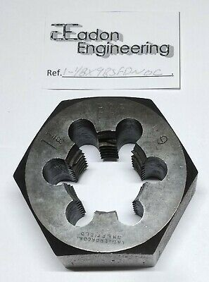 "1 1/8"" x 9TPI BSF (British Standard Fine) Die Nut, HSS. By top brands."