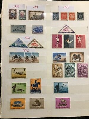 Collection of Stamps - San Marino - Some rare examples - 1929 onwards