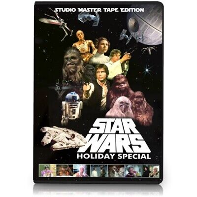 The Star Wars Holiday Special DVD - Life Day Chewbacca X-mas Xmas Christmas TV