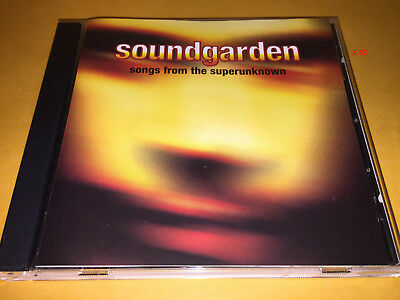 SOUNDGARDEN songs from superunknown CD hits JERRY GARCIA'S FINGER chris cornell