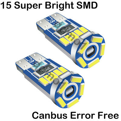 2ps Error Free Side light Upgrade Beam 9SMDs LED Light Bulbs For Audi TT MK1 8N