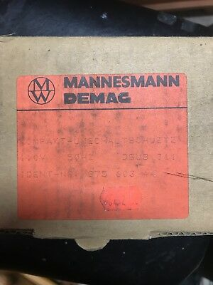 Demag DSUB311 Speed Changeover Contactor 110v 50hz 87560344 Brand new sealed