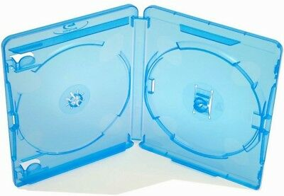 Estuche bluray amaray dobles 15mm, 10 unidades