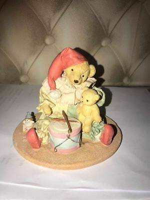 latex mould for making this lovely teddy scene ornament/candle
