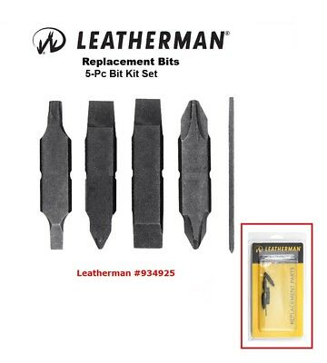 LEATHERMAN  REPLACEMENT BIT KIT 5 pc FOR WAVE EX: MULTI TOOLS FREE UK. SHIPPING.