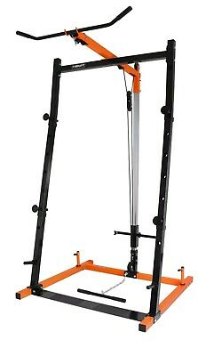 Mirafit Squat Rack And Cable Machine Lat Pull Down