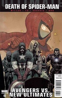 Ultimate Avengers Vs. New Ultimates #6 Death of Spider-Man Marvel 2011 Box1