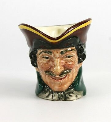 Lively Royal Doulton Vintage Dick Turpin D6128 Character Toby Jug MINT CONDITION