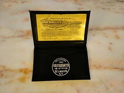 Vintage Fidelity and Casualty Company of New York ID/Card Holder