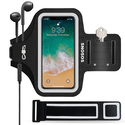 iPhone X Armband Waterproof Sports Gym Slim Case Running Protective Cover+Strap