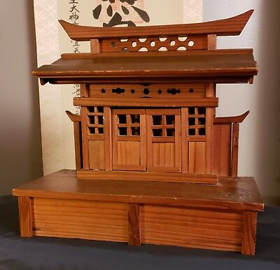 Antique Japanese Altar - Kamidana Shinto Shrine