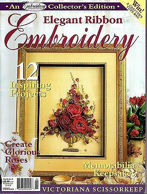 Embroidery & Cross Stitch Vol 9 No 9 - Elegant Ribbon embroidery