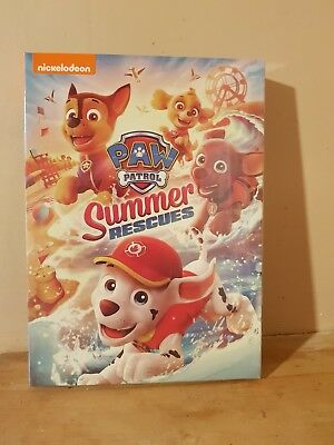 Paw Patrol Summer Rescues Nickelodeon Dvd ( Includes 8 summer rescue episodes )