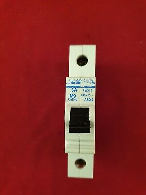 AS062 Dorman Smith 6 Amp MCB Type 2 Circuit Breaker