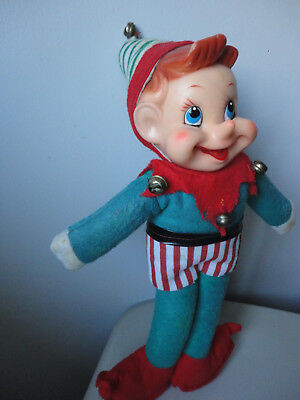 "Large Vintage Elf Pixie 12"" Doll - Last One"