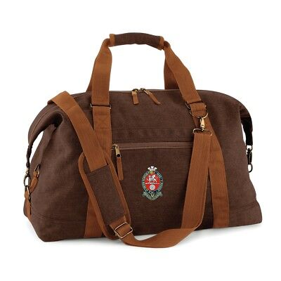 Princess of Wales's Royal Regiment - PWRR - Canvas Bag - With Embroidered Badge