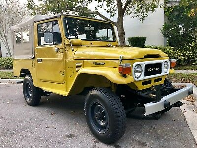 1982 Toyota Land Cruiser  1982 Toyota Land Cruiser FJ43