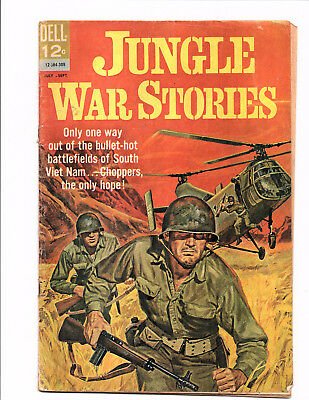 Jungle War Stories #4 (Jul-Sep 1963, Dell) - Good