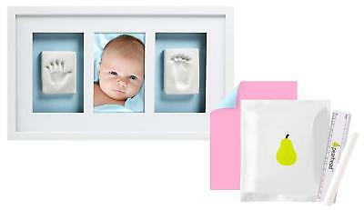 Pearhead Babyprints Newborn Baby Handprint And Footprint Deluxe Wall Keepsake