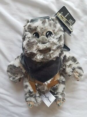 "NWT Disney Parks Star Wars 9"" Plush Brethupp Ewok Doll Return of the Jedi ROTJ"