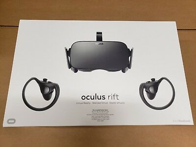 Oculus Rift + Touch Virtual Reality System ***FREE SHIPPING***