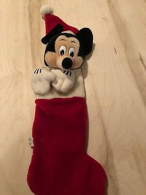 Vintage Mickey Mouse Stocking