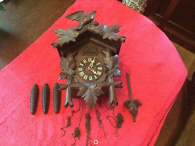 Vintage 3 Weight Musical Cuckoo Clock