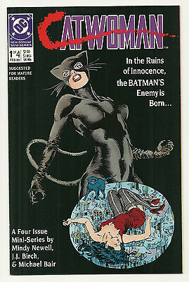 Catwoman 1989 #1 2 3 4 Near Mint Complete Set