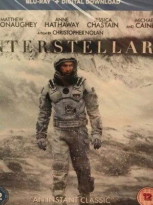 Interstellar BRAND NEW 2 DISC BLU RAY