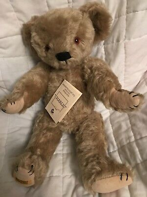 "Merrythought Ltd. Teddy Bear limited edition 538 of 1000 ""Charlie"""