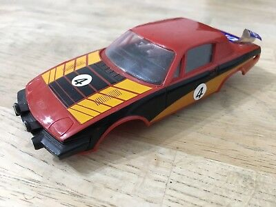 SCALEXTRIC CAR SPARES Triumph TR7 Rally C130 Red Body / Shell With Interior