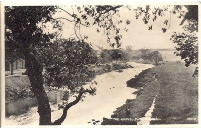 RARE OLD POSTCARD - THE GROVE - MUSSELBURGH - EAST LOTHIAN C.1939 by Menzies