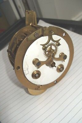 Clock Parts Open Face Movement Ordy French  J Marti Striking  Unusual Movement