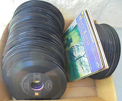 Lot of 126 45RPM records: 60's-70's rock, pop, easy listening.  No reserve price