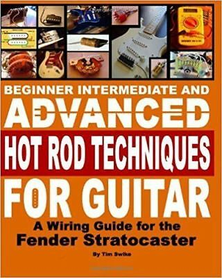 fender stratocaster squire electric guitar pickups wiring harness kit book  on cd
