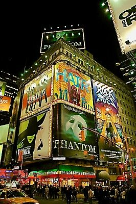 """Aloha Pictures By Alan Schoenauer Photographie D'art """" Time Square New York """""""