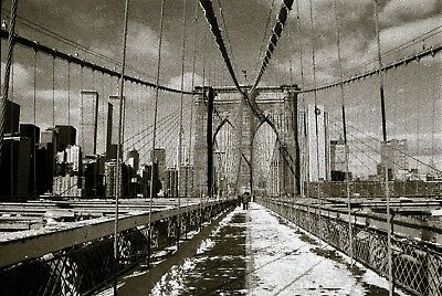 """Aloha Pictures By Alan Schoenauer Photographie D'art """" Brooklyn Bridge Ny """""""