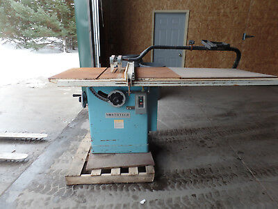 NorthTech Industrial Table Saw Model NT-12-43 5 hp  Date 2000.01