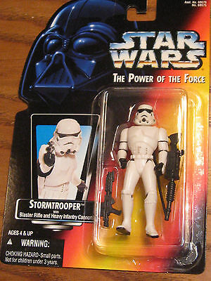 Star Wars / The Power of the Force - Stormtrooper Action Figure - 1995