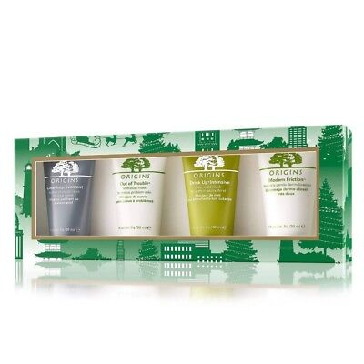 NEW 4 ORIGINS MINI MASK Marvels Gift Set Drink up Modern Friction Out of Trouble